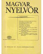 Magyar Nyelvőr 1977. július-szeptember - László Zsigmond, Pásztor Emil, Király István, Kemény Gábor, Erdődi József, Kovalovszky Miklós