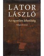 Az egyetlen lehetőség - Lator László
