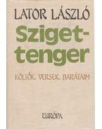 Szigettenger (dedikált) - Lator László