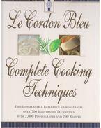 Le Cordon Bleu's Complete Cooking Techniques - Jeni Wright, Eric Treuille
