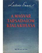 A magyar társadalom kialakulása - Lederer Emma