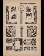 Légrády Testvérek könyvnyomdai műintézetének betűmintái.
