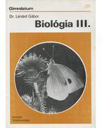 Biológia III. - Lénárd Gábor