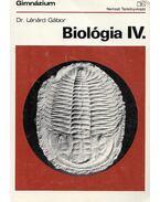 Biológia IV. - Lénárd Gábor