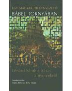 Egy magyar idegenvezető Bábel tornyában - Lénárd Sándor, Siklós Péter, Terts István