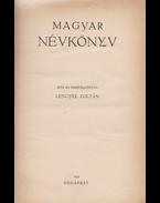 Magyar névkönyv. (Kolligátum.) - Lengyel Zoltán