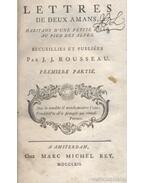 Julie, ou la nouvelle Heloise 1-3. kötet (nem teljes) - Rousseau, Jean-Jacques
