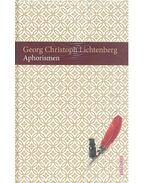 Aphorismen - Lichtenberg, Georg Christoph