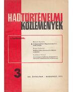 Hadtörténelmi közlemények XX. évf. 1973/3. - Liptai Ervin