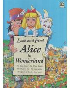 Look and Find Alice in Wonderland