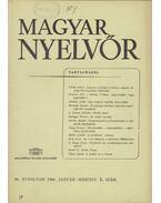 Magyar Nyelvőr 90. évf. 1966/1. - Lőrincze Lajos