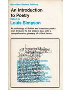An Introduction to Poetry - Louis Simpson