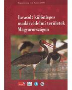 Javasolt különleges madárvédelmi területek Magyarországon - Lovászi Péter
