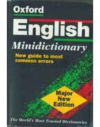 Oxford English Minidictionary - Lucinda Coventry, Martin Nixon