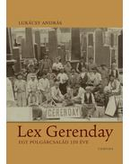 Lex Gerenday - Lukácsy András