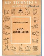 Autómodellezés - Luntzer Raymond