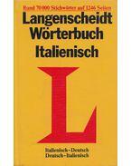 Langenscheidt Wörterbuch Italienisch - Macchi,Vladimiro, Frenzel, Walter