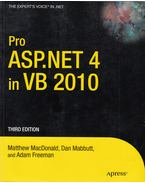 Pro ASP.NET 4 in VB 2010 - MacDonald, Mattew, Mabbutt, Dan, Freeman, Adam