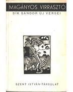 Magányos virrasztó (aláírt) - Sík Sándor