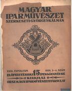 Magyar iparművészet XXXI. évfolyam 3-4. szám - Györgyi Kálmán