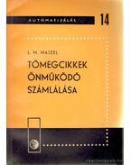 Tömegcikkek önműködő számlálása - Majzel, L. M.