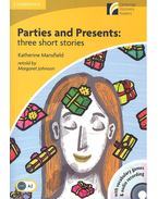 Parties and Presents: Three Short Stories - CD - Stage 2 - Elementary - Mansfield, Katherine