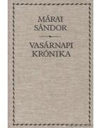 Vasárnapi krónika - Márai Sándor