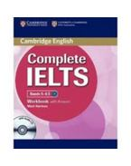 Complete IELTS Workbook with Answers +Audio CD - Bands 5-6.5 - Mark Harrison