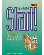 Start - Német I. Munkafüzet - Maros Judit, Szitnyainé Gottlieb Éva