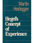 Hegel's Concept of Experience - Martin Heidegger