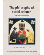 The philosophy of social science - Martin Hollis