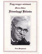 Rózsahegyi Kálmán - Márton Gábor