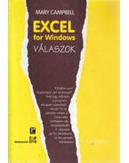 Excel for Windows - Válaszok - Mary Campbell