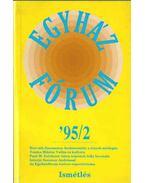 Egyházfórum 1995/2. - Máté-Tóth András