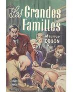 Les grandes familles - Maurice Druon