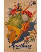 Mauthner árjegyzék 1948 (megrendelő lappal)