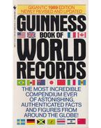 Guinness Book of World Records 1989 - McWhirter, Norris