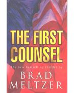 The First Counsel - Meltzer, Brad