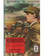 Mémoires de Guerre II. - de Gaulle, Charles