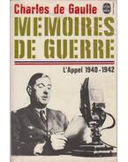 Memoires de guerre - de Gaulle, Charles