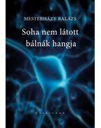 Soha nem látott bálnák hangja - Mesterházy Balázs