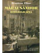 Márai Sándor bibliográfia - Mészáros Tibor