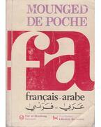 Mounged de Poche Francais-arabe - Michel Mourad