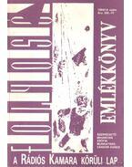 Folyosó 1994/I-II.szám - Emlékkönyv - Mihancsik Zsófia