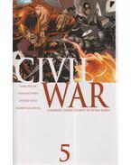 Civial War No. 5. - Millar, Mark, McNiven, Steve