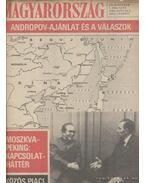 Magyarország 1983. XX. évfolyam ( hiányzik a 9. szám) - Pálfy József