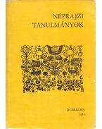 Néprajzi tanulmányok Dankó Imre tiszteletére - Módy György, Balassa Iván, Ujváry Zoltán