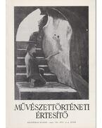 Művészettörténeti értesítő XL. évf. 3-4. szám - Mojzer Miklós