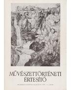 Művészettörténeti értesítő XLIII. évf. 1-2. szám - Mojzer Miklós