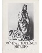 Művészettörténeti értesítő XLIV. évf. 1-2. szám - Mojzer Miklós
